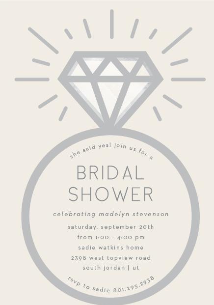 Bridal Shower Invitations Everything