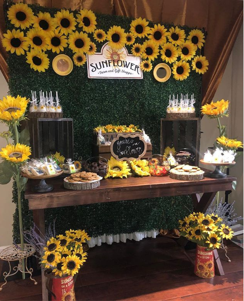 Epic Ideas For A Sunflower Bridal Shower