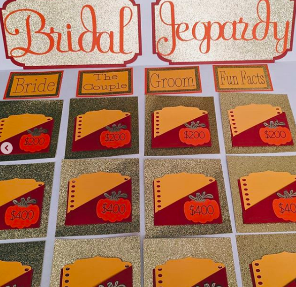 Free Bridal Jeopardy Game Bridal Shower 101