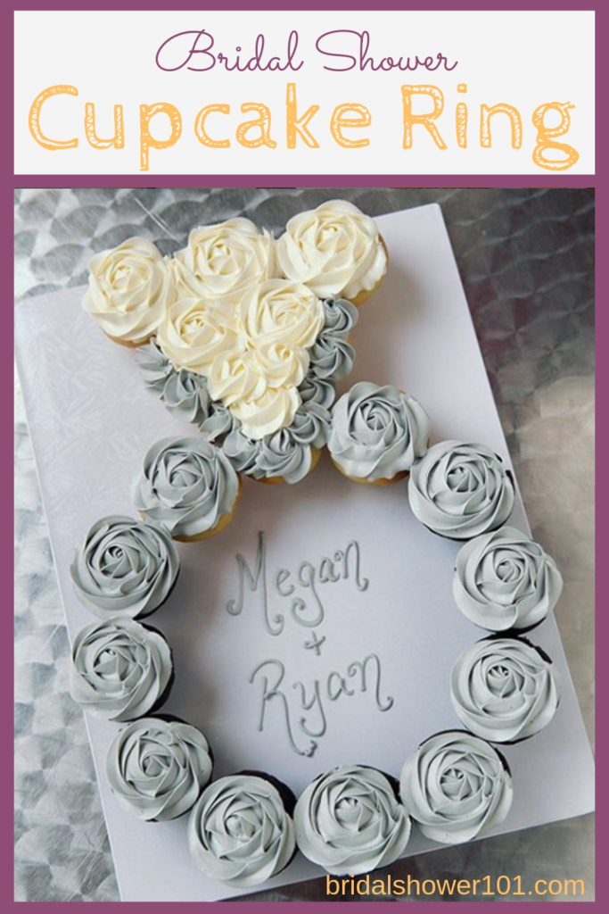 bridal shower cupcake ring