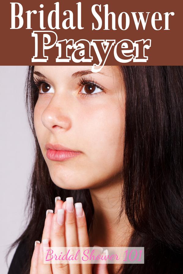 bridal shower prayer