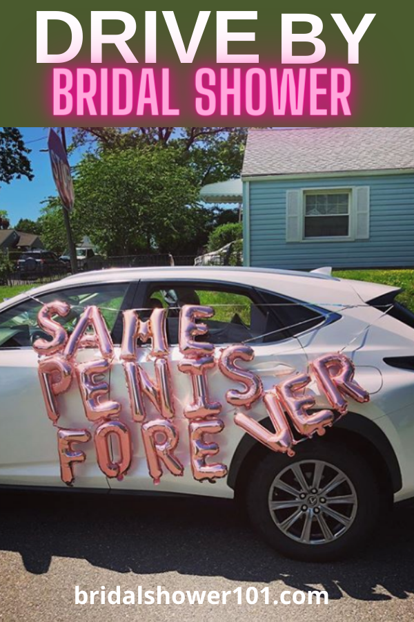 drive by bridal shower