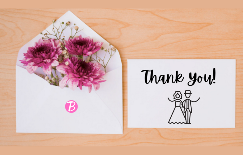 Wedding Thank You Card Wording For Super Sweet Messages Bridal Shower 101