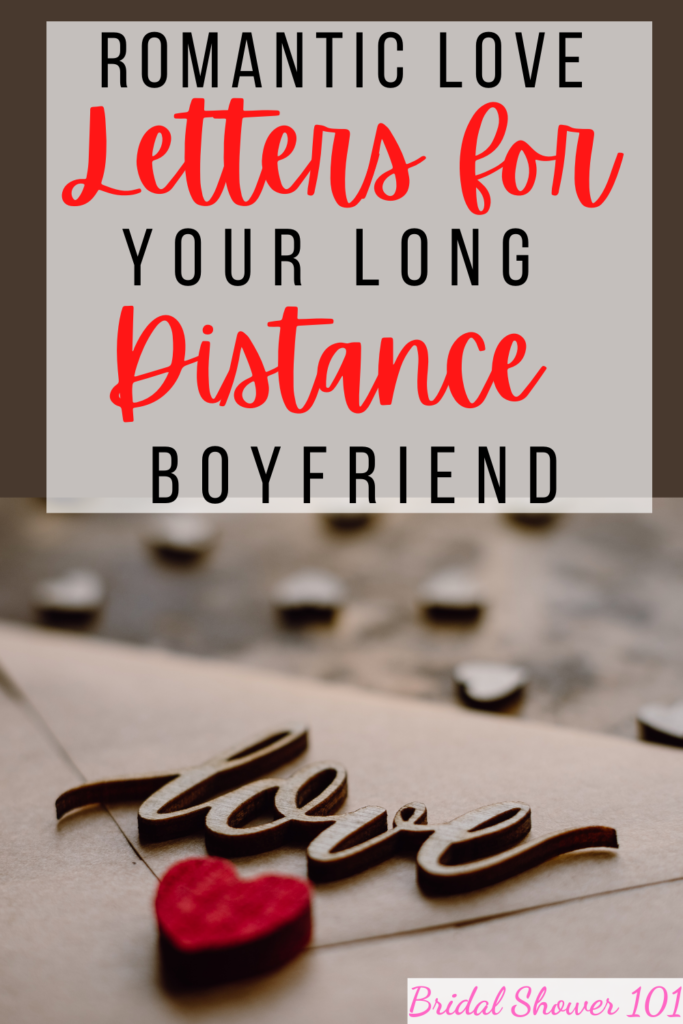 Distance and love messages