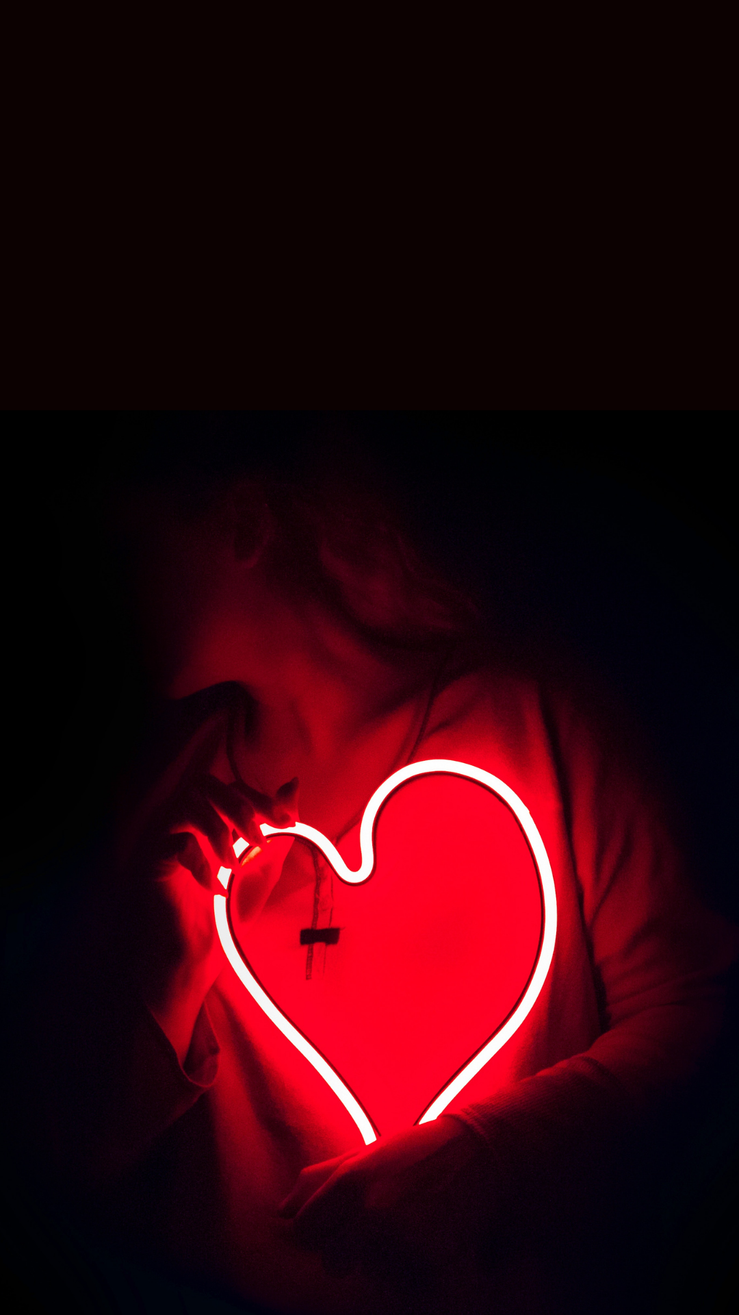 Neon Red Aesthetic Wallpaper For iPhone ...